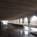 Río Rímac se desbordó inundando el parque La Muralla