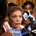 Luz Salgado anuncia suspensión de la interpelación a Vizcarra