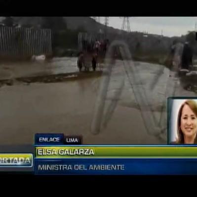 Ministra Galarza: Se realizó corte de luz para preservar riesgo de cortocircuitos