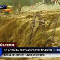 Huarochirí: nuevo huaico reactiva quebrada y toma avenida