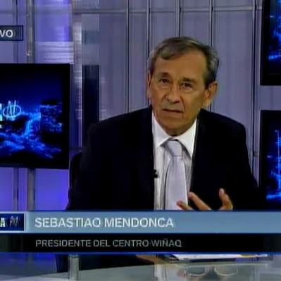 Sebastiao Mendonca presentó su libro 'Para reducir la conflictividad minera