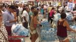 Restringen venta de agua en algunos supermercados de Lima - Noticias de luis hidalgo
