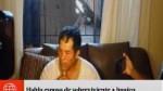 Habla el esposo de mujer que sobrevivió al huaico en Punta Hermosa - Noticias de punta hermosa