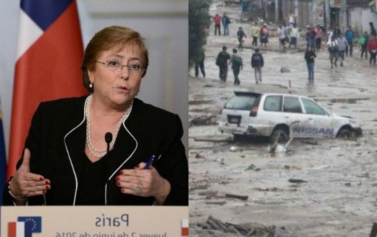 Chile: Bachelet expresa su solidaridad con el Perú   Internacionales
