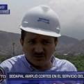 Sedapal: Tenemos 270 pozos de agua en Lima, no hay necesidad de sobreabastecerse