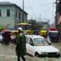Tumbes: Plaza de Armas quedó inundada tras las intensas lluvias