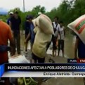 Piura: inundaciones afectan varios sectores de Chulucanas
