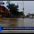 Trujillo: huaico deja gran cantidad de arena en las calles