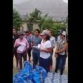 Keiko Fujimori entregó ayuda a damnificados por los huaicos en Huarochirí