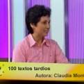 Tiempo de leer: Claudia Montalvo nos habla de '100 textos tardíos'