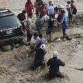 Policía rescató a 622 personas durante desastres