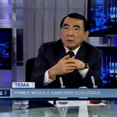 Guillermo Flores presentó el proyecto de los módulos ecológicos sanitarios