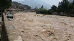 Río Rímac: restringen tránsito en tramo de la carretera Ramiro Prialé - Noticias de municipalidad de chosica