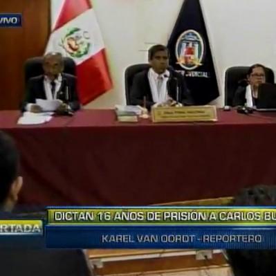 Carlos Burgos: sentencian a 16 años de prisión al ex alcalde de SJL