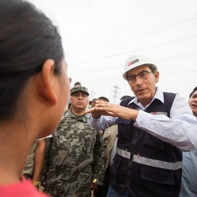 Vizcarra: Trabajos de la Línea 2 del Metro de Lima no están paralizados