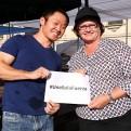 Fenómeno El Niño: Kenji Fujimori entregó donación a Nancy Lange