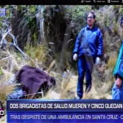 Cajamarca: dos brigadistas murieron y cinco quedaron heridos por despiste