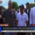 Tumbes: ministro de Agricultura se reunió con agricultores afectados por lluvias