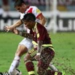 Perú ve el Mundial de lejos tras empatar 2-2 en visita a Venezuela