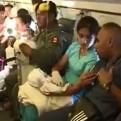Chimbote: bebé con problemas en el corazón fue evacuado a Lima