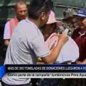 #JuntémonosParaAyudar: más de 200 toneladas de ayuda llegaron a Huarmey