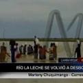 Desborde de río La Leche deja incomunicada a Chiclayo y Piura