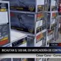 Tacna: incautan 500 mil soles en mercadería de contrabando