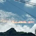 Chiclayo: arcoíris de fuego aparece en el cielo sorprendiendo a ciudadanos