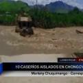 Lambayeque: más de 400 personas quedaron aisladas por caída de puente