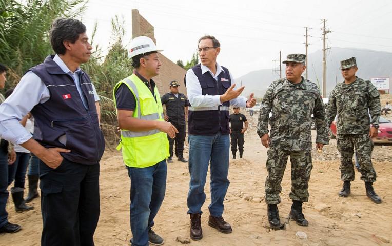 Reconstrucción tomará entre dos a tres años — Ministro Vizcarra