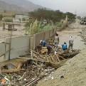 Carapongo: vecinos acusan a Rutas de Lima por desborde del río Rímac