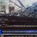 Lambayeque: parte de iglesia se derrumbó en Olmos