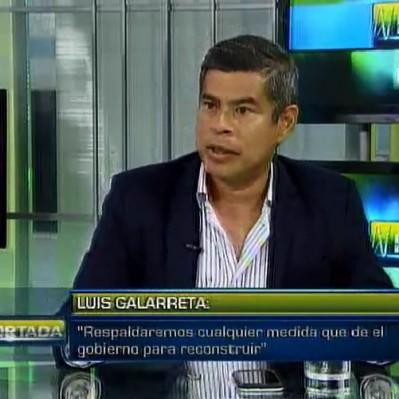 Galarreta: Fuerza Popular respaldará medidas sobre la reconstrucción del país