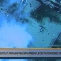Satélite Perú SAT-1 mostró magnitud de inundaciones en Piura