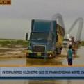 Lambayeque: tránsito interrumpido en el km 829 de la Panamericana Norte