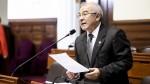 Solidaridad Nacional resta importancia a caída de aprobación de Castañeda - Noticias de congreso