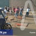 Huachipa: aniego dificultó el tránsito en avenida Carapongo