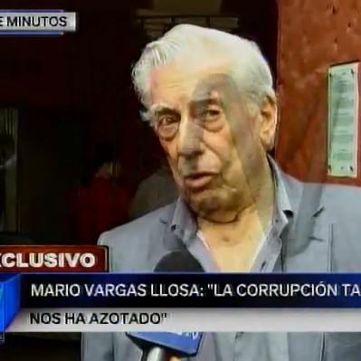 Vargas Llosa sobre caso Odebrecht: Lo de Toledo está muy claro, lo de Humala no