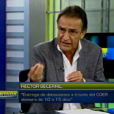 Becerril afirma que alcaldes deberían recibir donaciones de Indeci y repartirlas