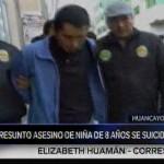 Huancayo: hallan muerto a asesino confeso de niña de 8 años