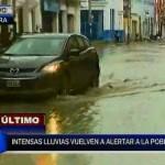 Piura: intensa lluvia genera alarma entre la población