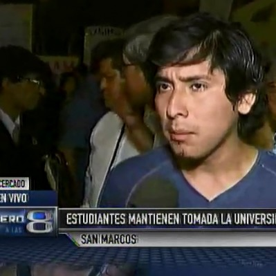 San Marcos: estudiantes y autoridades acordaron formar mesa de diálogo