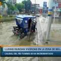 Tumbes: desborde del río inundo varias viviendas