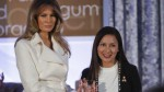 Melania Trump premió a la peruana Arlette Contreras en Washington - Noticias de asistencia escolar