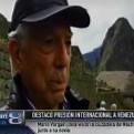 Mario Vargas Llosa destacó presión internacional a Venezuela