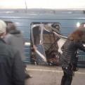 Rusia: suben a 11 los fallecidos deja atentado en metro de San Petersburgo