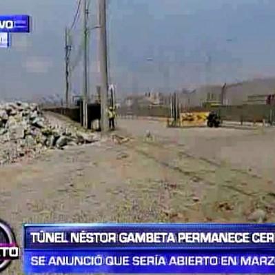 Callao: Puente Gambetta debió estar listo en marzo, pero sigue en obras