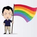 Kenji Fujimori levanta la bandera LGTBI en Twitter