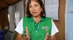 Ministra del Ambiente: Reconstrucción del país debe tener enfoque climático - Noticias de elsa galarza