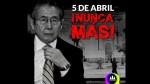 #5 de abril y #FujimoriNuncaMás: los memes y lo que opina la gente en redes - Noticias de congreso